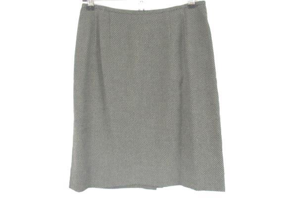B. Bennett Wool Blend Lined Women's 2 Piece Suit Gray Jacket Skirt Size 2