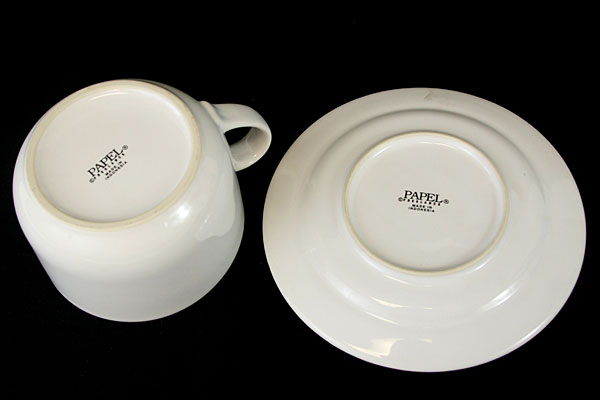 Papel Freelance Cafe Latte Mug And Saucer