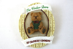 1998 The Windsor Bears Of Cranberry Commons Brooch