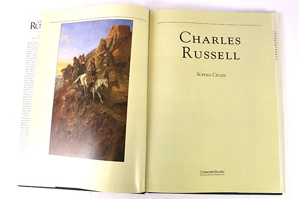 Charles Russell By Sophia Craze 71 Full Color 21 Black and White Illustrations
