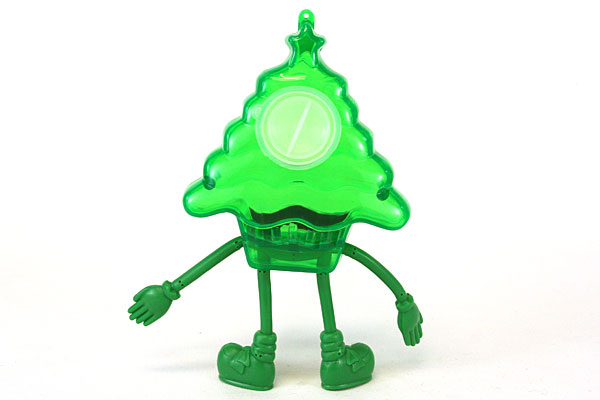 Green Christmas Tree Hollow Candy Holder by Papel Freelance