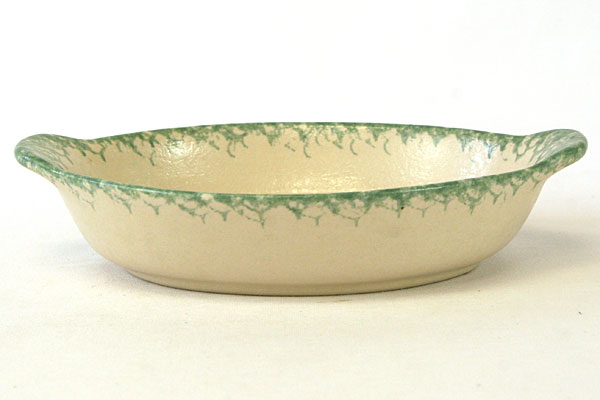 Clayforms of Oregon Handcrafted Cherry Decorated Stoneware Dish