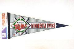 Minnesota Twins MLB WinCraft Inc Felt Baseball Pennant