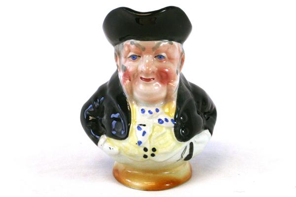 Vintage J. Bull Toby Chracter Creamer