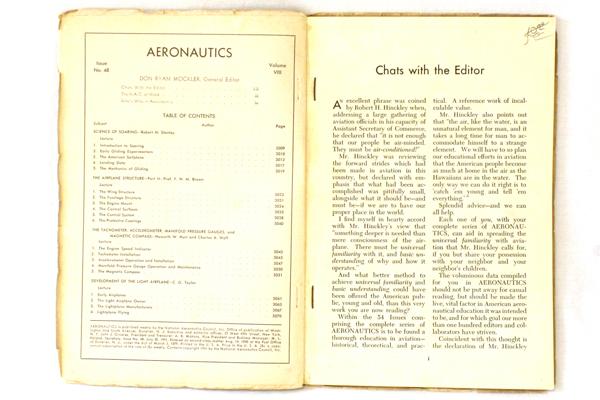 Vintage Aeronautics Magazine Volume 8 Issue 48 July 30,1941