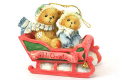 Cherished Teddies Our First Christmas Bundled Up For The Holidays 617229