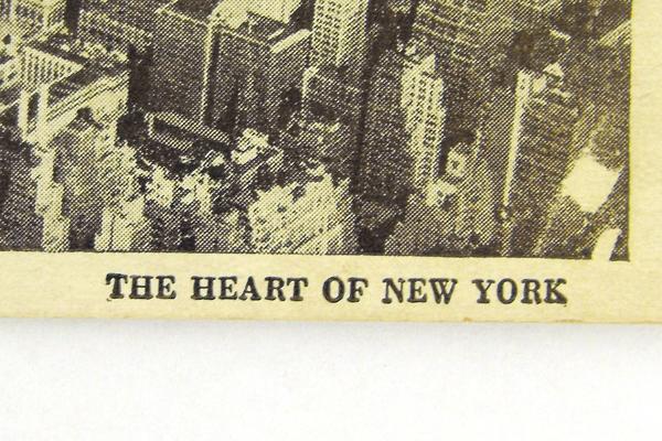 Vintage The Penn Zone Heart Of New York Postcard 7710
