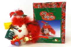 "Jolly Holly Days 5.5"" SNOWMAN Shop Till You Melt Tablepiece Figurine NEW"