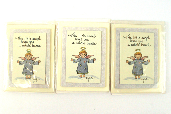 Set of 3 Decorative Stand-Up Angel Cards Winslows Inc By Pam Elifritz