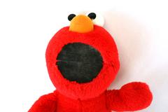 Plush Tickle Me Elmo 1995 TYCO Jim Hensen Sesame Street