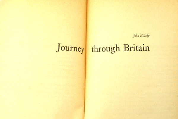 1970 Paladin Paperback - Journey Through Britain by John Hillaby