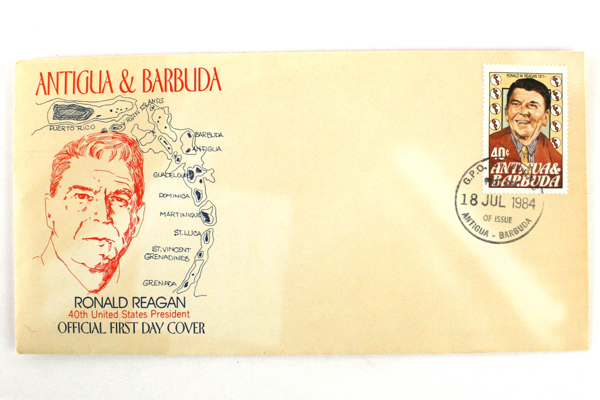 Lot Of Two Antigua & Barbuda First Day Cover Postage And Envelope