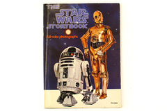 The STAR WARS Storybook Full-Color Photographs Scholastic 1978