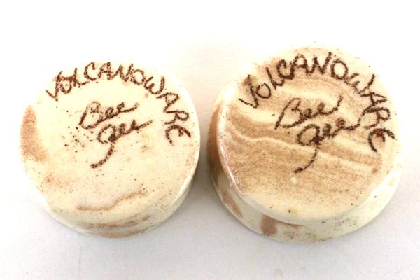 Two Bee Gee Studios Volcanoware Ring Holders
