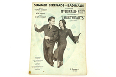 Summer Serenade-Badinage Sheet Music 1938-Victor Herbert Bob Wright Chet Forrest