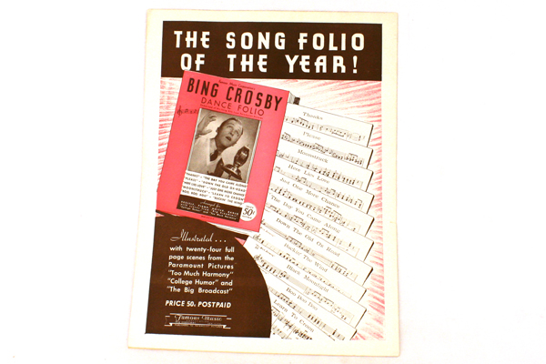 There's Nothing Like an Old Fashioned Waltz Sheet Music 1934-Ned Washington