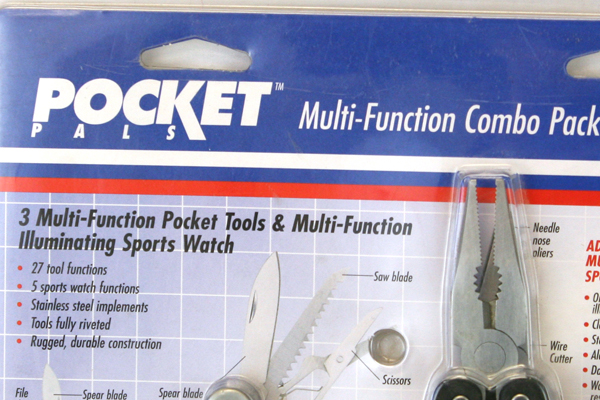 Coast Cutlery Pocket Pals Multi-Function Combo Pack