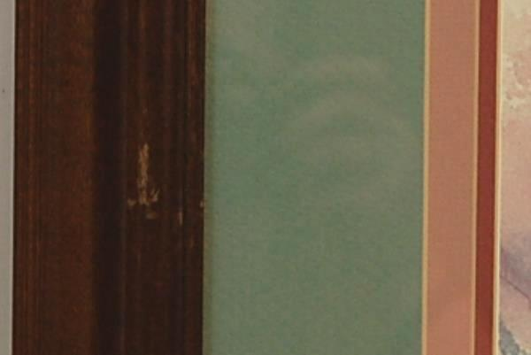 Barbara Mock Framed Print, Ltd Edition, Gazebo Summer, Signed
