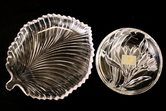Lot of 2 Mikasa & Studio Nova Candy Dishes Made in Japan