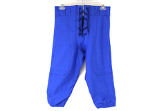 A4 Prime N6141 Blue Adult Size LARGE Football Polyester/Spandex Short Pants