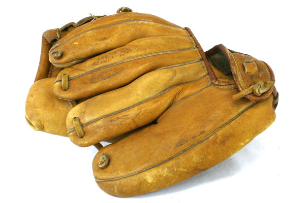 Olympion World League F400 Genuine Cowhide Leather Mitt Made in Japan
