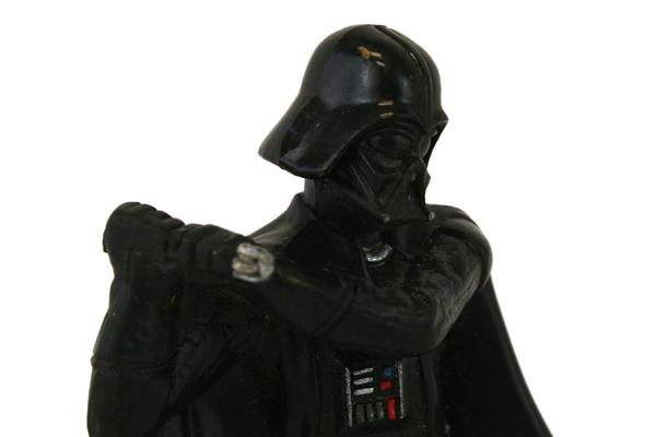 2002 Deco Pac Inc. Star Wars Darth Vader Figurine (As-Is)