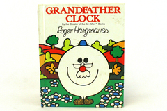 1982 Grosset & Dunlap Grandfather Clock by Roger Hargreaves Hardcover Book