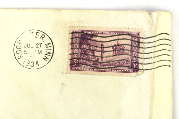 Lot of 2 Universal Ship Cancellation Society Covers 1934 Florida Minnesota