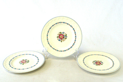 Lot of Three England Wedgwood Evenlode Corinthian Dessert Plates