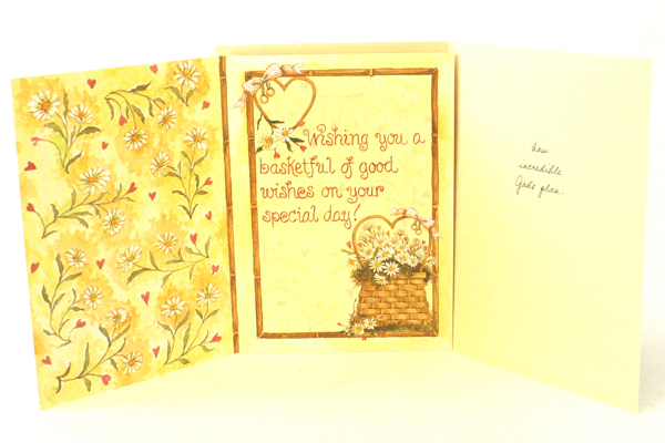 Lot of 4 Greeting Cards for Wedding or Couple  Unused
