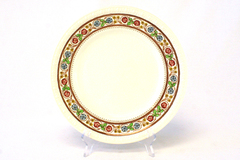 """Vintage Spode Firenze 10.75"""" Charger Or Chop Plate # 2/9034 (As-Is)"""