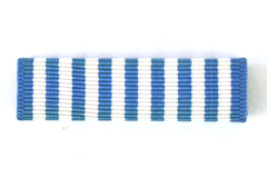 United States Navy United Nations Service Medal Campaign Ribbon