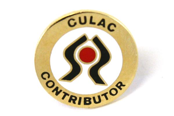 Lot Of Two Enamel CULAC  (Credit Union Legislative Action Council) Tie Tacks