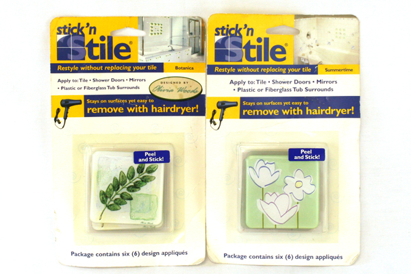 Stick 'N Stile Summertime & Botanica Stick Appliques New in Package