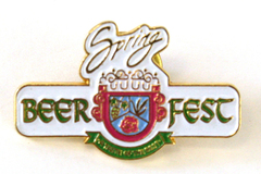 A Taste of The Best Oregon Spring Beer Fest Gold Tone Metal Lapel The Pin Center
