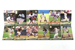 Fleer Ultra Series II Chicago White Sox 1992 Baseball Team Set of 12