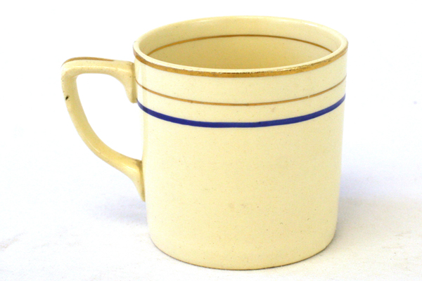 Vintage Cream Colored Demitasse Cup By Johnson Bros. England