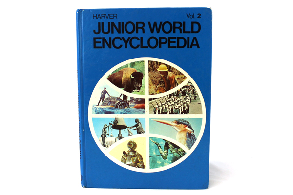 1972 Harver Junior Encyclopedia Volume 2 King Arthur - Brazil