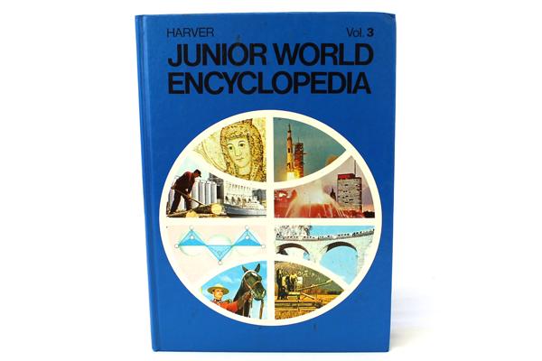1972 Harver Junior Encyclopedia Volume 3 Bread - Civil Service