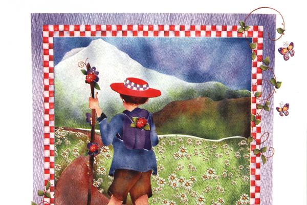 Red Hat Sisterhood of Purple Enjoying Life's Journey Iron-On Transfer Jody