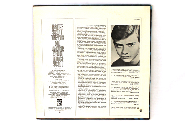 """They're All Raving About Bruce Scott - MGM Records 12"""" LP Record # E-4339"""