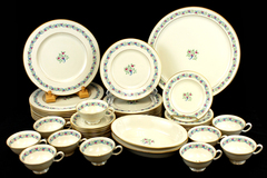 Lenox Porcelain Bellefonte S-301 Place Setting Serving 53 Pcs Cup Saucer Plate