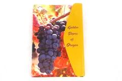 """Willamette Valley """"Golden Slopes of Oregon"""" Winery Guide and Notebook Essential"""