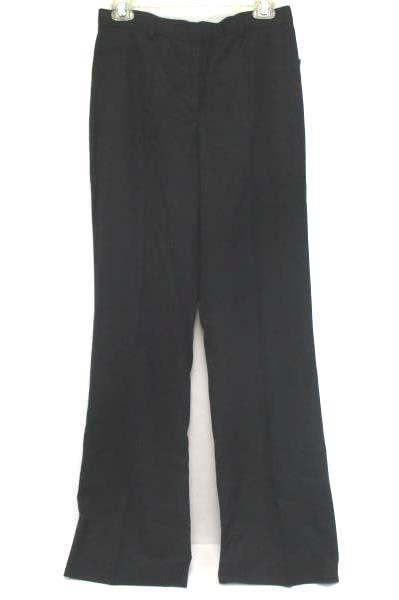 Women's Tribella Checkered Straight Leg Black Slacks Pants Business Career 4