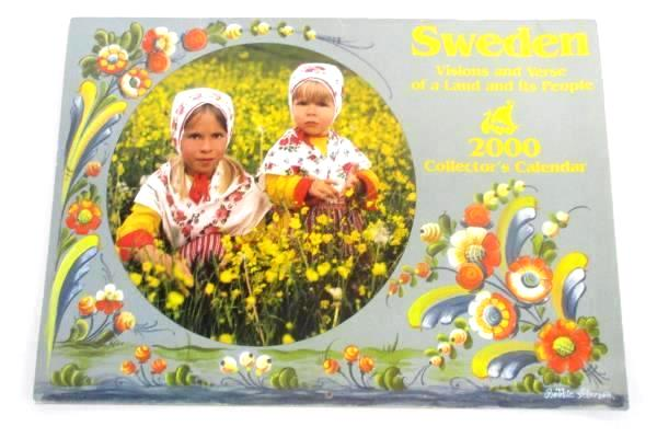 2000 Calendar Sweden Visions and Verse of a Land and It's People Scandinavian