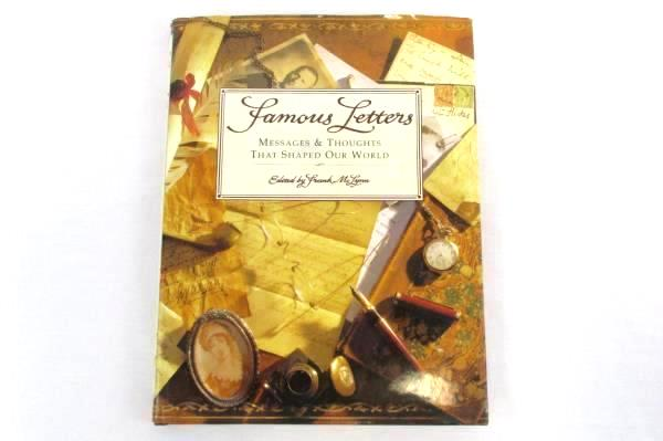 Famous Letters: Messages & Thoughts That Shaped Our World Frank McLynn HCDJ