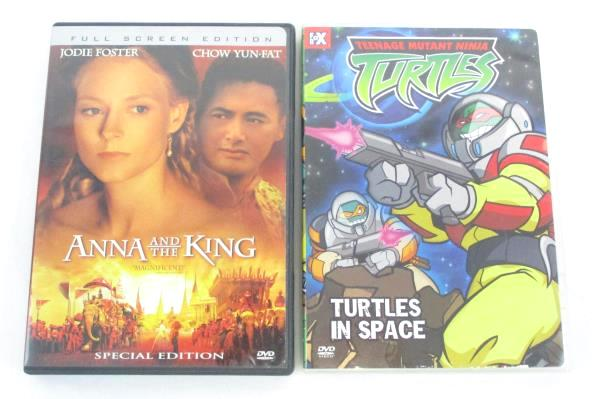 Lot of 5 Family DVD TNMT Turtles In Space Disturbia Great Escape Anna King