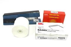 Lot of Office Supplies Swing-line Stapler Paper Fasteners Paper Roll Staples