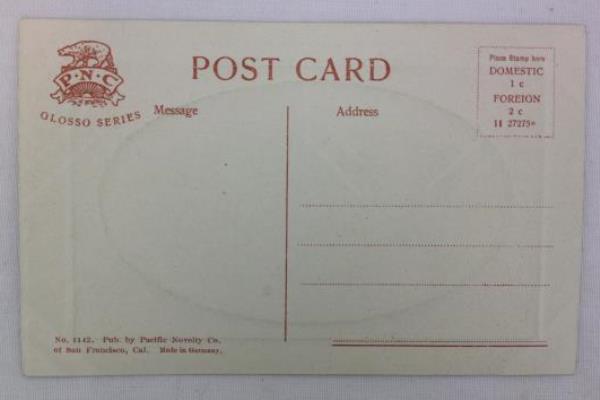 Vintage 1900's Postcard RPPC Ashland Creek Canon, Ashland, OR #1142 Unused