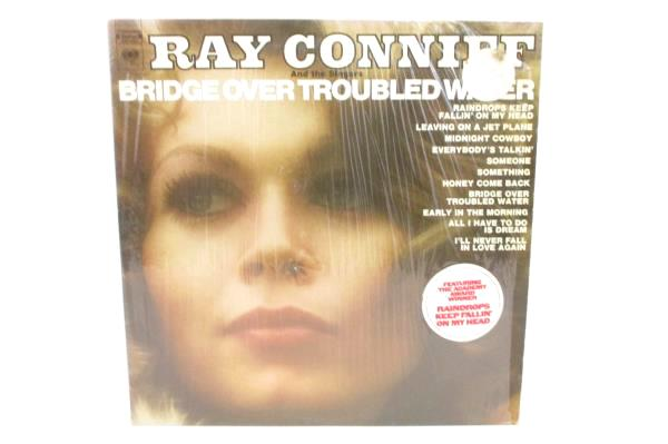 Ray Conniff and the Singers Bridge over Troubled Water Vinyl LP Shrink Hype 1970